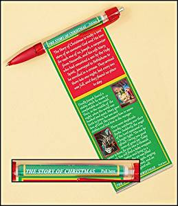 Story of Christmas Banner and Prayer Pen