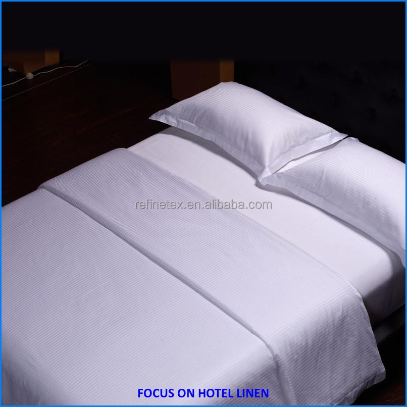 Natuurlijke en zachte beddengoed voor hotels  ziekenhuis bed linnen beddengoed set product ID