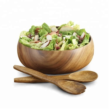 High Quality Acacia Wooden Salad Bowl Handmade Acacia Bowl Buy Wood Bowlwood Salad Bowlfruit Bowl Product On Alibabacom
