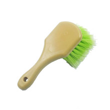 2017 Best seller car wash short handle cleaning brush/tire brush/car alloy wheel cleaning brush