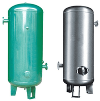 Compressed Air Storage Tank stainless gas tank For Industrial Air Compressor