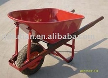 metal wheel barrow, strong wheelbarrow, large wheel barrow
