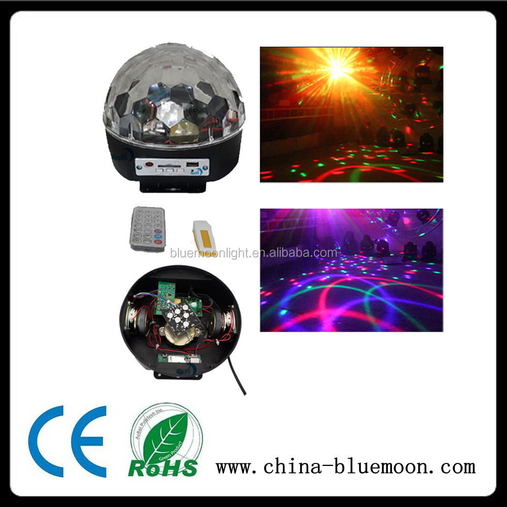 cheap LED Magic Crystal disco Ball