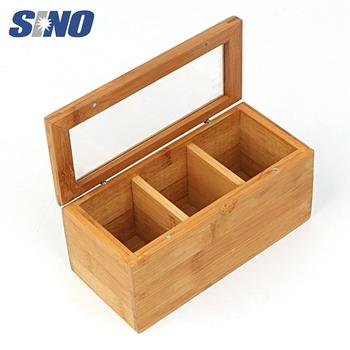 small tea bag storage Bamboo Box with compartments  sc 1 st  Alibaba & Small Tea Bag Storage Bamboo Box With Compartments - Buy Tea Bag ...