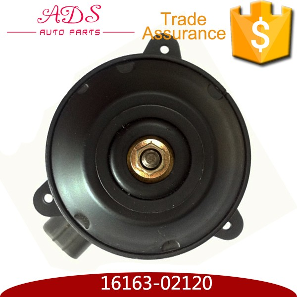 For Camry Vios 21V DC Denso Radiator Cooling Fan Motor with OEM 16363-02120 ADS ADS ADS