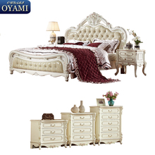 Antique french spanish style china bedroom furniture