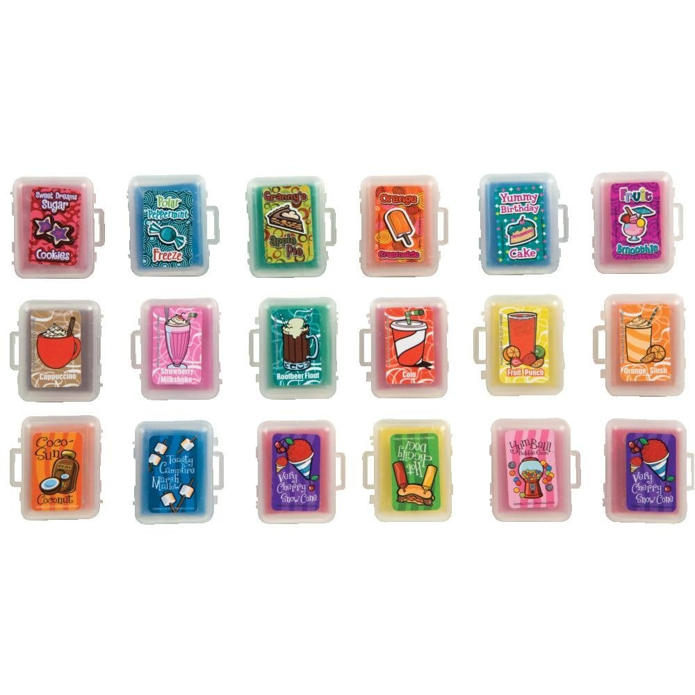 Raymond Geddes Scent-Sibles Kneaded Erasers, 144 Pack (69090)