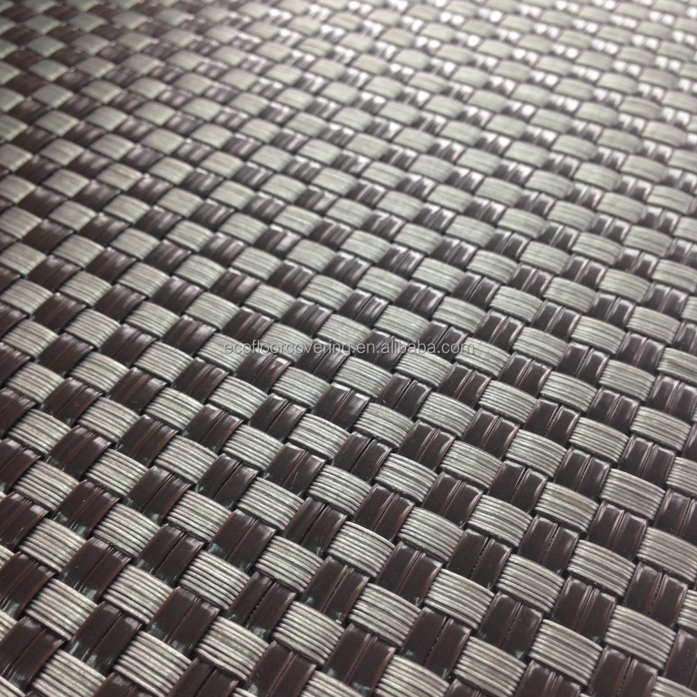 Pvc Woven Vinyl Flooring Wall Paper Buy Water Proof