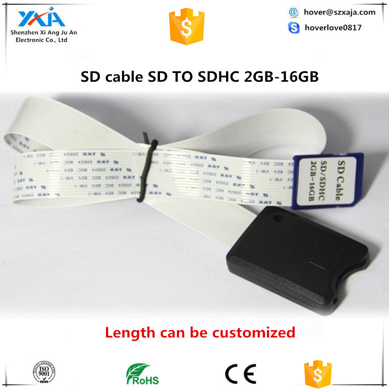 48CM SD Card to SD Card Extension Extender Cable SDHC 4 8 16 32 GB Compatible GPS TV SDXC