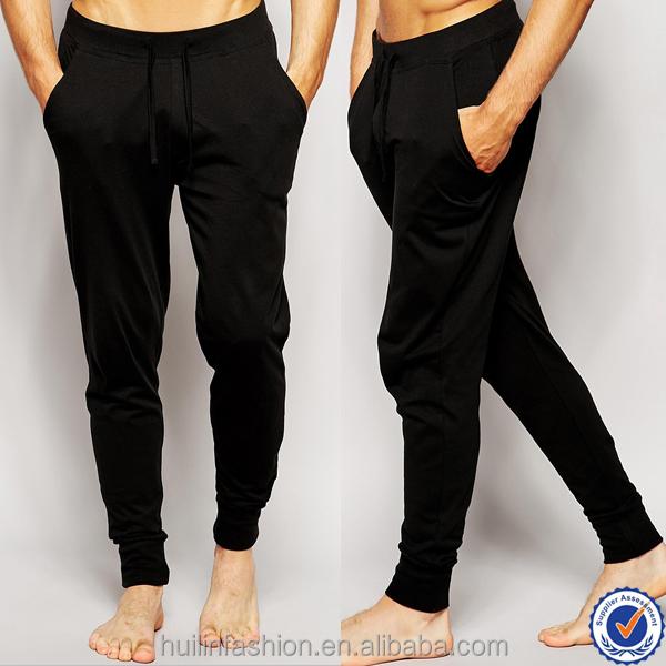 ddad525fa4b cheap wholesale adult onesie men black lounge pajama joggers oem cotton  casual trousers men