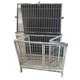 New Foldable Pet Supply Stainless Steel Dog Kennel Cages Crates