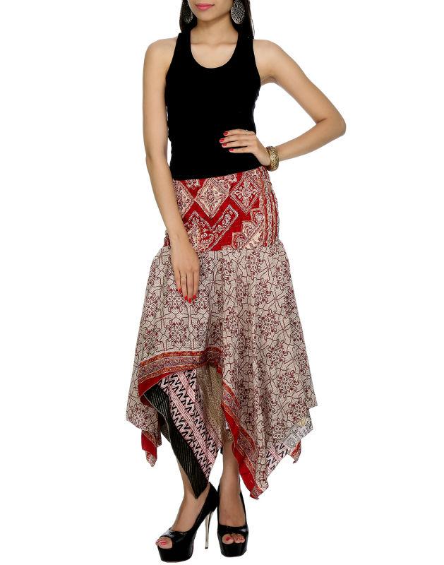 c82fa9bd7 Venda quente das mulheres algodão saia midi, arte de seda saias indianas,  estilo indiano