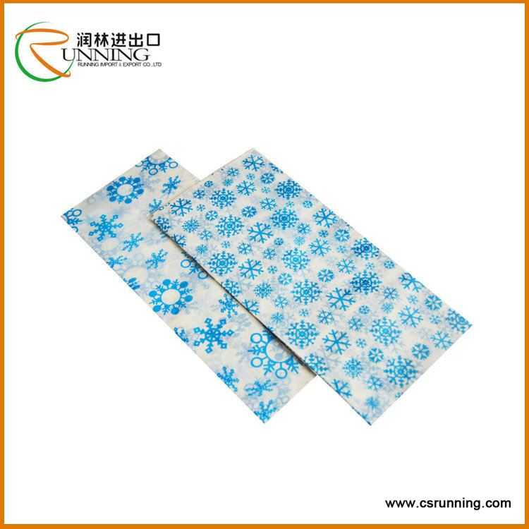 Hot Sale Snow Flower Pattern Tissue Paper for Wrapping