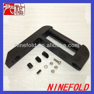 Plastic handle mounting/ OEM injection molding parts/ ABS injection molded plastic parts