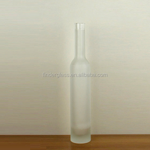 375ml glass bottle super flint ice wine bottle 375ml 330mm high