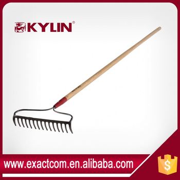 Hand Hardware Tool Long Handle Claw Hay Rake