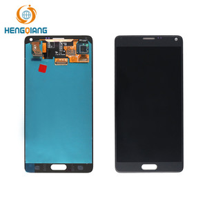 Mobile phone repair parts For Samsung galaxy note 4 lcd display touch screen digitizer replacement