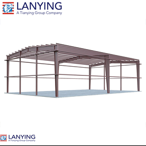 Prefabricated Industrial Steel Warehouse Shed Construction for sale