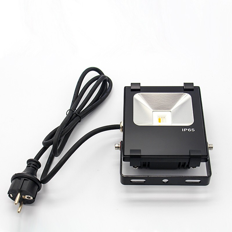 3 Pcs Smart LED Lamp RGB Flood Light 10W Dimmable Floodlight Spot Refletor + Wifi Controller Touch Remote