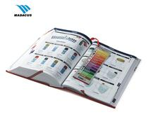 Overseas well designed a4 printing paper hard cover full color book printing services ""