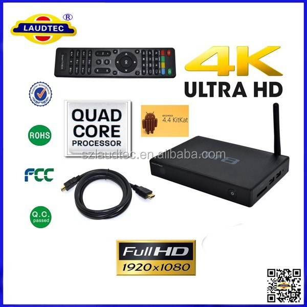 New M8 Android <strong>TV</strong> <strong>Box</strong> <strong>Amlogic</strong> S802 Media Smart Player Fully Loaded Quad Core Android 4.4 Smart Mini PC <strong>TV</strong> <strong>Box</strong> 4K Laudtec
