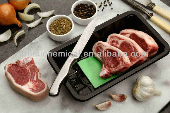 soaker pad for meat, pork, chicken with SAP, non-woven farbic
