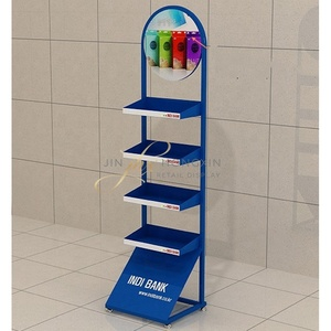 POP Store Chewing Gun Snack Shelf Display Stand supermarket chocolate display floor nut snap display stand