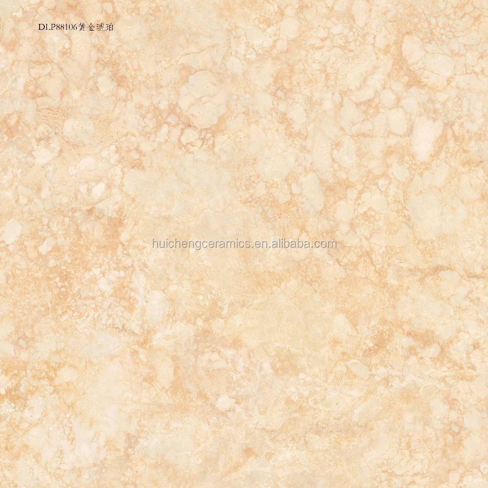 600x600mm Glossy Finish Yellow Colour Glazed Ceramic Tiles And ...