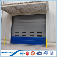 PVC Fabric Self Repairing High Speed Roll up Door for Clean Room