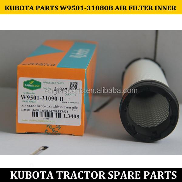 Filtro aire interior Kubota