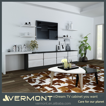 European Style Wholesale Living Room Furniture Simple Tv Stand Wood