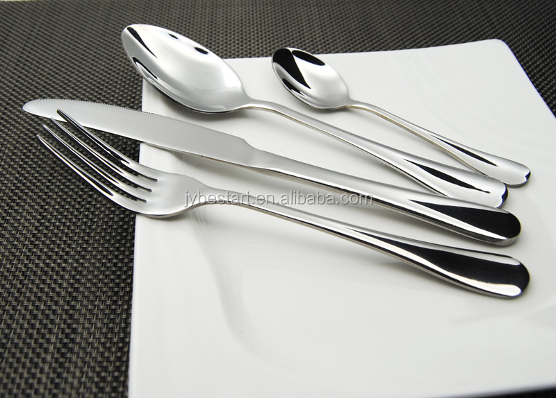 BS103# in stock Mirror Polish 24 Piece Stainless Steel cutlery set