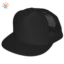 Custom cotton trucker mesh cap high quality gorra snapback cap running plain baseball hats 5 panel custom logo