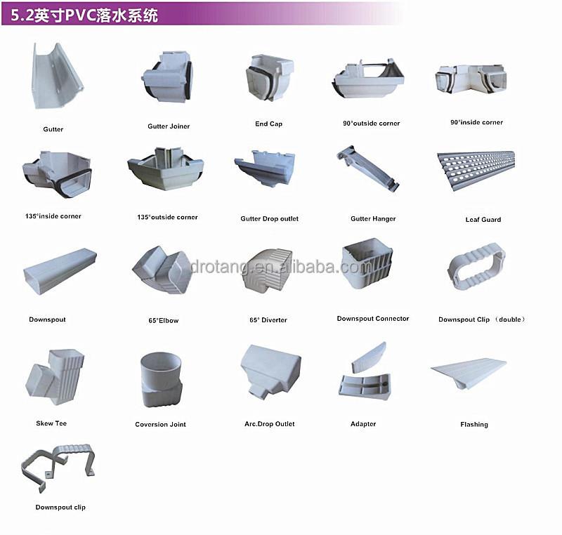 7 Inch Gutter Downspout Amp Gutter Accessories Buy Gutter