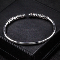 Fashion Trending 316 Stainless Steel Boys Bangles and Bracelets For Men