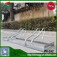 OEM zincing bicycle parking rack motorcycle parking rack