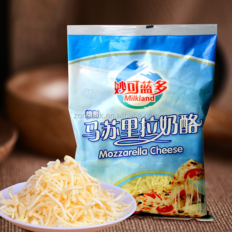 (Video)Automatic Grated Cheese Weighing and Packaging Machine Pillow Bag
