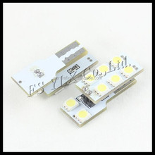 12 v lámpara trunk maletero maletero del coche t10 8smd 5050 led light