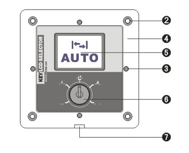 Electrical Rotary Changeover Switch For Remote Control