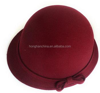 8e6e0185e3c Vintage Men Women Fedora Dome Hat Roll Brim Bowler Derby Hat - Buy ...