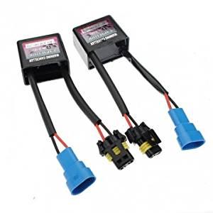 Obsidian Warning Error Decoder Canceller Anti-Flicker For Xenon HID Light