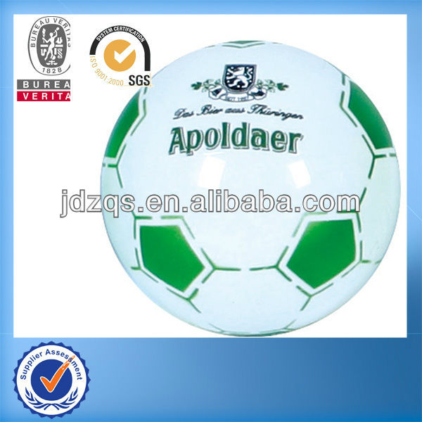 PVC-Plastic inflatable toy ball/football toy