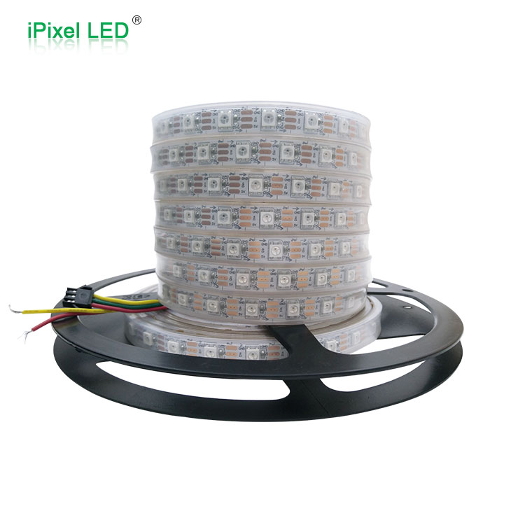 60 leds/m 5050 RGB SMD color direccionable led tira de luz 5 V ws 2812B tira de led