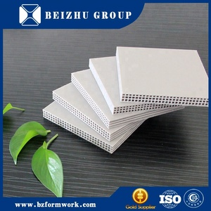 New plastic replace plywood panels concrete used fireproof formwork for sale
