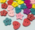 Wholesale High quality Various shapes bow/flower/round 2 holes small Wood buttons