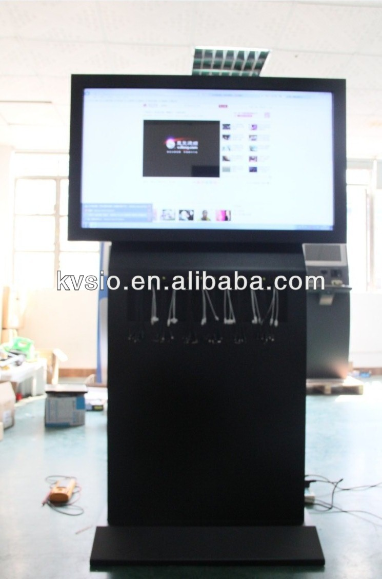 Interactive Information Kiosk/Video Advertising Kiosk/Mobile Phone Charging Kiosk/Free Pay Phone Charging Station