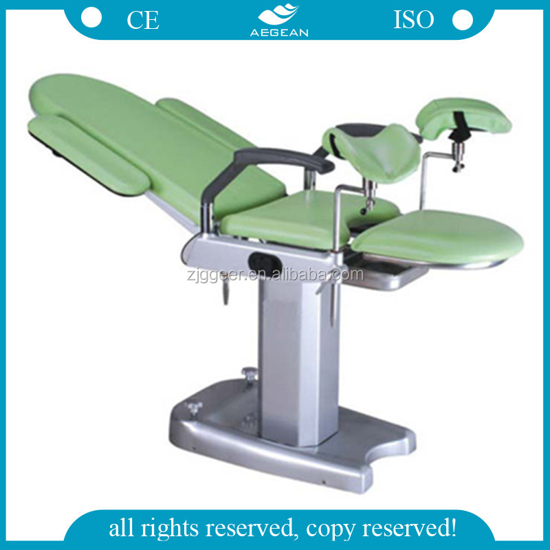 AG-S102B CE&ISO multifunction manual hot sale gyn exam chair for sale