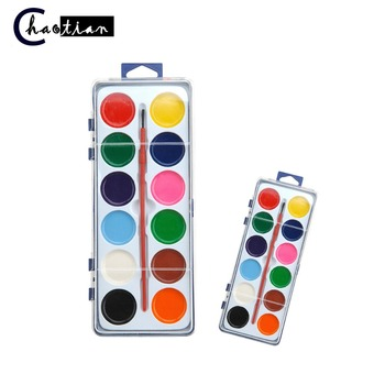 12colors Semi Dry Water Color Paint For Children Education Buy For Children Education Water Bottle Changing Color Water Color Product On Alibaba Com