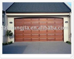 Solid Wood Automatic Overhead Sectional Garage Door
