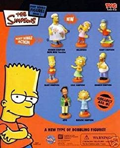 Simpsons Body bobble ser 5 Capsule Toys Set of 8